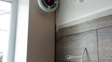 Пример монтажа рекуператора PRANA – 150 8