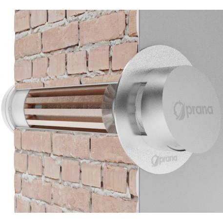 Ковпак вентиляційний Prana D150 з вітрозахистом